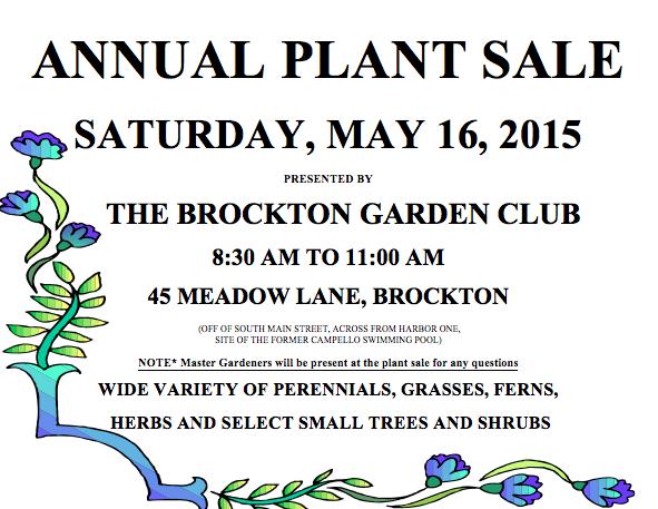 2015 Plant Sale Flyer
