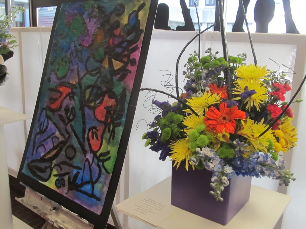 art in bloom at the garden and craft show april 9 2017 garden club